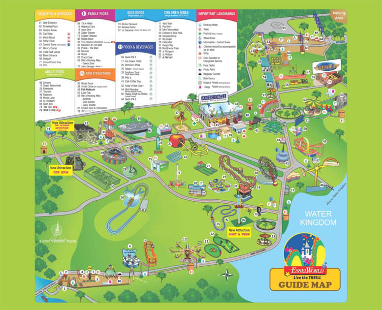 how to reach essel world from thane